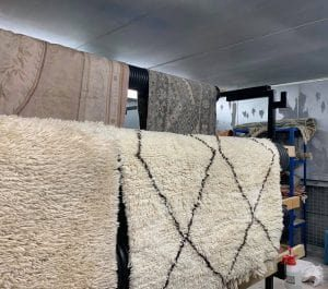 rug cleaning dry room